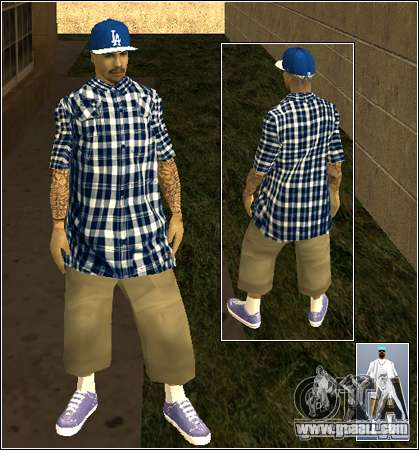 Skin Pack Getto for GTA San Andreas twelth screenshot