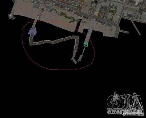 Night moto track for GTA San Andreas eighth screenshot