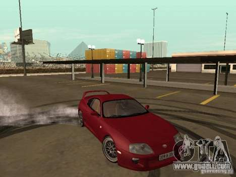 Toyota Supra for GTA San Andreas upper view
