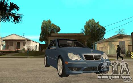 Mercedes-Benz C32 AMG 2003 for GTA San Andreas back view
