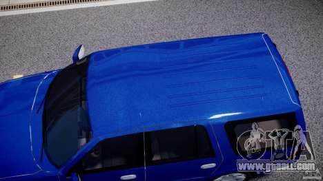 Lincoln Navigator 2004 for GTA 4 side view
