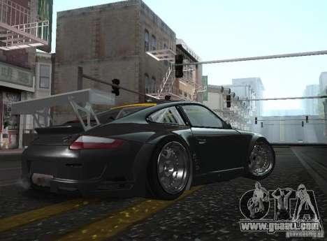 Porsche 911 GT3 RSR RWB for GTA San Andreas left view