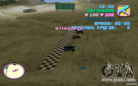 RC Bandit LCS for GTA Vice City third screenshot
