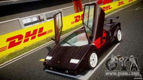 Lamborghini Countach v1.1 for GTA 4