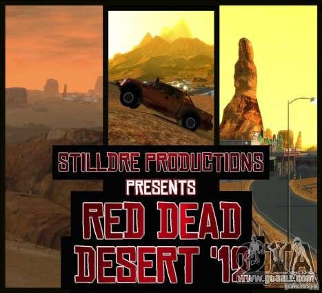 Red Dead Desert 2012 for GTA 4
