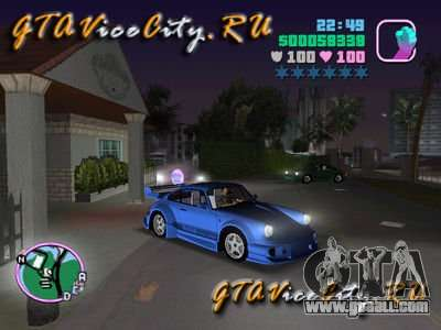 Porsche 911 VEILSIDE for GTA Vice City