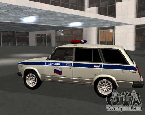 VAZ 21047 Police for GTA San Andreas left view