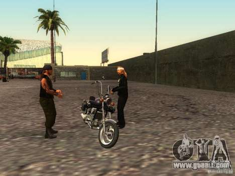 The realistic school bikers v1.0 for GTA San Andreas eighth screenshot