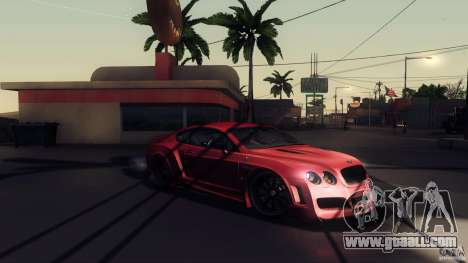 Bentley Continental GT Premier4509 2008 Final for GTA San Andreas bottom view