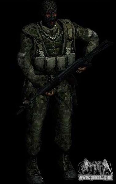 Stalker Shadow of Chernobyl SWAT OGSE for GTA San Andreas forth screenshot