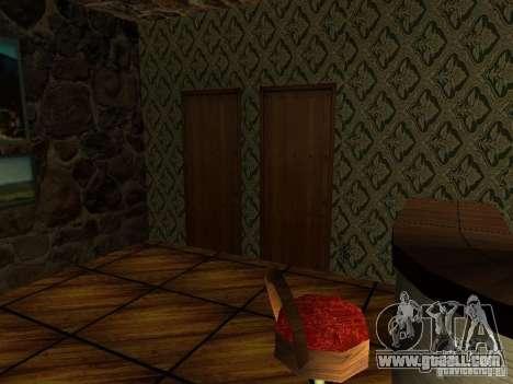 New textures UFO bar for GTA San Andreas third screenshot