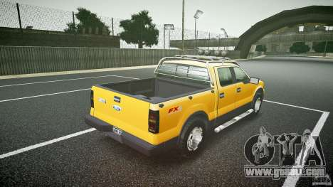 Ford F150 FX4 OffRoad v1.0 for GTA 4 side view