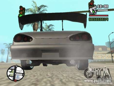 Elegy First Update By reNz for GTA San Andreas back left view