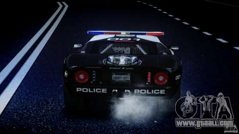 Ford GT1000 Hennessey Police 2006 [EPM][ELS] for GTA 4 wheels
