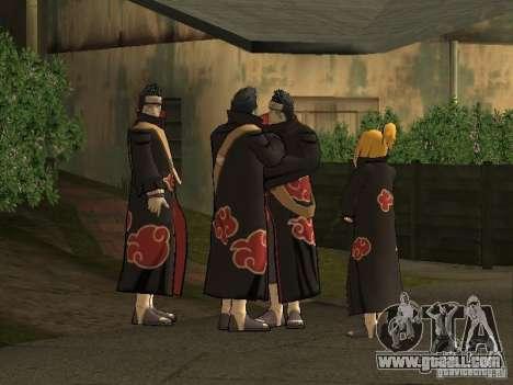 The Akatsuki gang for GTA San Andreas