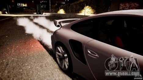 Porsche 911 GT2 RS 2012 for GTA 4 back left view