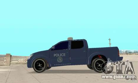 Toyota Hilux Somaliland Police for GTA San Andreas
