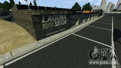 Laguna Seca [Final] [HD] for GTA 4 forth screenshot