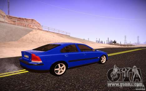 Volvo S 60R for GTA San Andreas back left view
