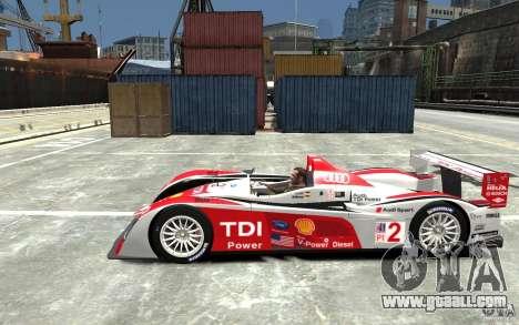 Audi R10 TDI for GTA 4 left view