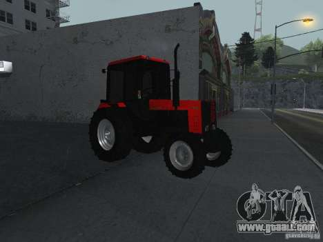 Tractor MTF 1025 for GTA San Andreas right view