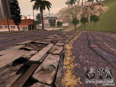New roads in Vajnvude for GTA San Andreas forth screenshot
