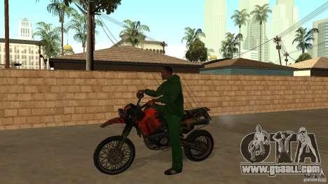 Motorcycle Mirabal for GTA San Andreas