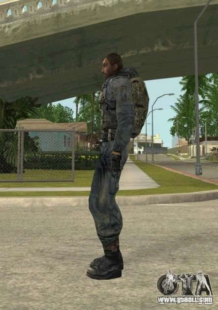 Grouping of Mercenaries from a stalker for GTA San Andreas second screenshot