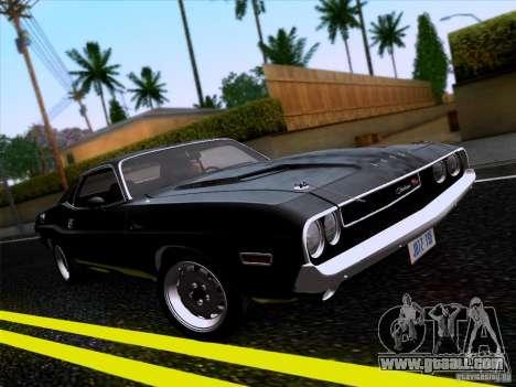 Dodge Challenger HEMI for GTA San Andreas