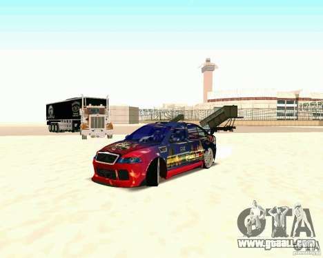 Skoda Octavia III Tuning for GTA San Andreas back left view