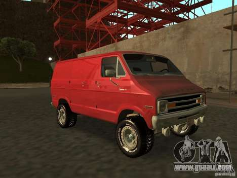 Dodge Tradesman 7z for GTA San Andreas