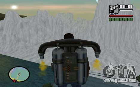 Mountain map for GTA San Andreas forth screenshot