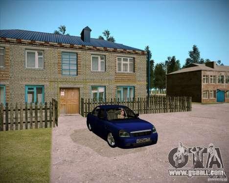 Lada Priora Chelsea for GTA San Andreas inner view