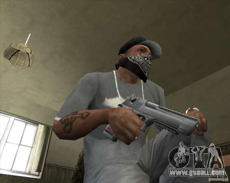 New Desert Eagle for GTA San Andreas third screenshot