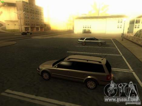 Vw Passat B5+ Wagon 1,9 TDi for GTA San Andreas left view