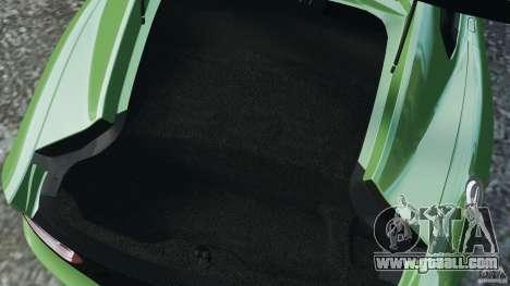SRT Viper GTS 2013 for GTA 4 bottom view