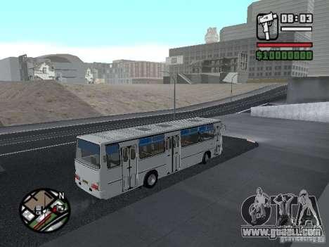 Ikarus 266 City for GTA San Andreas inner view