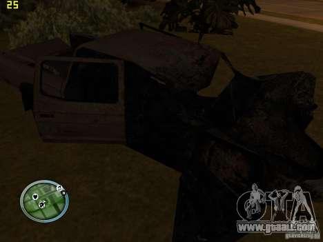Broken cars on Grove Street for GTA San Andreas forth screenshot