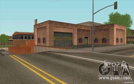 Firehouse for GTA San Andreas forth screenshot