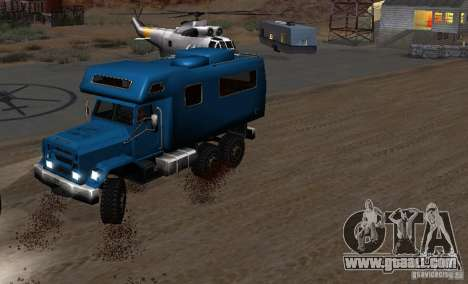 Journey 6x6 Enterable V1 for GTA San Andreas right view
