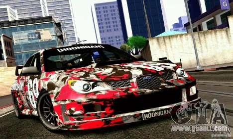 Subaru Impreza WRX STi Gymkhana for GTA San Andreas