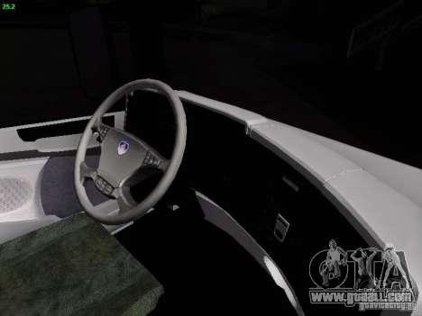 Scania R580 V8 Topline for GTA San Andreas upper view
