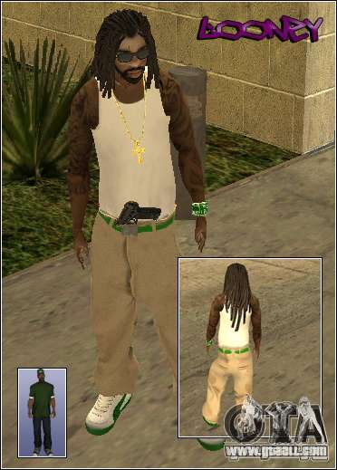 Skin Pack Getto for GTA San Andreas ninth screenshot