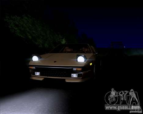 Lamborghini Jalpa 3.5 1986 for GTA San Andreas back view