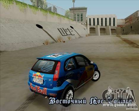 Ford Fiesta ST Rally for GTA San Andreas inner view