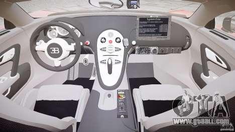 Bugatti Veyron 16.4 Police [EPM/ELS] for GTA 4 right view