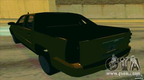 Chevrolet Avalanche 2011 for GTA San Andreas back left view