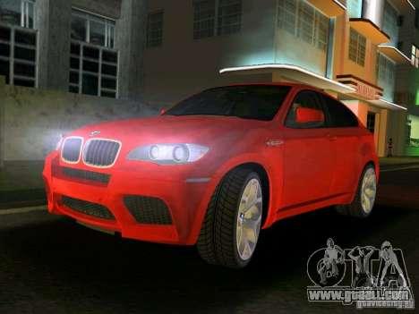 BMW X6M for GTA Vice City
