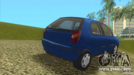 Fiat Palio for GTA Vice City back left view