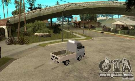 Suzuki Carry Kamyonet for GTA San Andreas right view